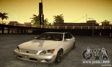 Lexus IS 300 for GTA San Andreas