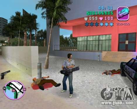 Grey shirt for GTA Vice City sixth screenshot