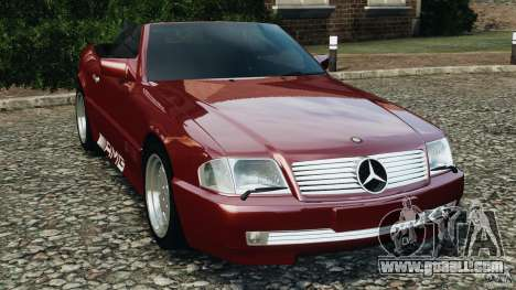 Mercedes-Benz SL 500 AMG 1995 [Final] for GTA 4
