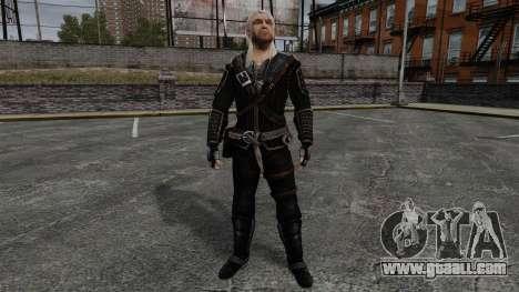 Geralt of Rivia v7 for GTA 4