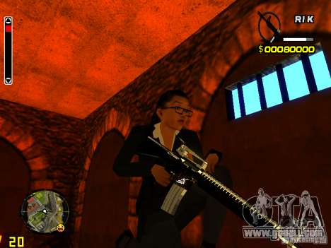 Next weapon pack for GTA San Andreas third screenshot