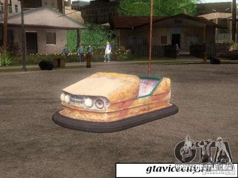 Attrakcionnaâ machine for GTA San Andreas left view