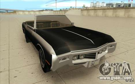 Buick Riviera GS 1969 for GTA San Andreas back view