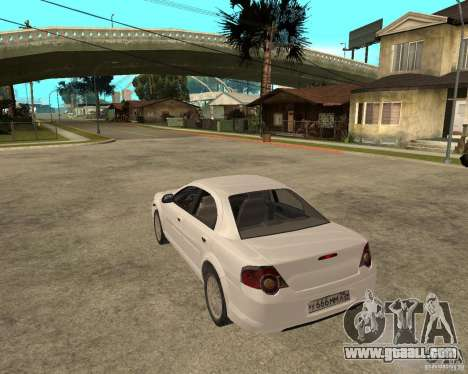 GAZ Volga Siber 2.5 AT for GTA San Andreas left view