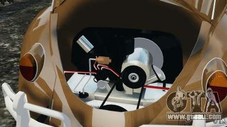 Volkswagen Fusca Gran Luxo v2.0 for GTA 4 bottom view