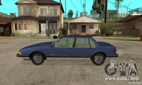 Pontiac Bonneville 1989 for GTA San Andreas left view