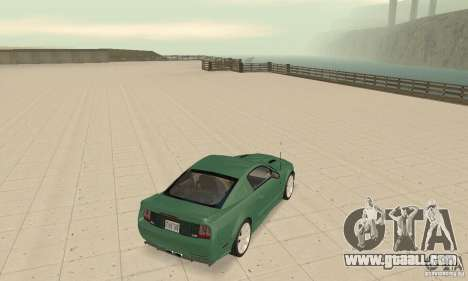 Saleen S281 v2 for GTA San Andreas back left view
