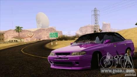Subaru Legacy Drift Union for GTA San Andreas upper view