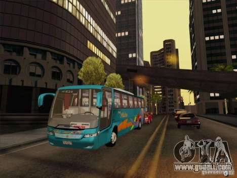 Mercedes-Benz Vissta Buss LO for GTA San Andreas side view