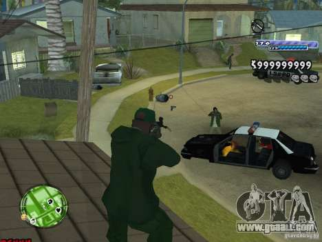 C-HUD v2.0 for GTA San Andreas