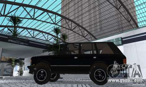 Range Rover County Classic 1990 for GTA San Andreas right view