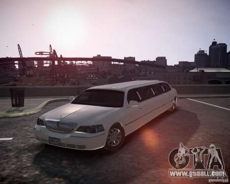 Lincoln Town Car Limousine for GTA 4
