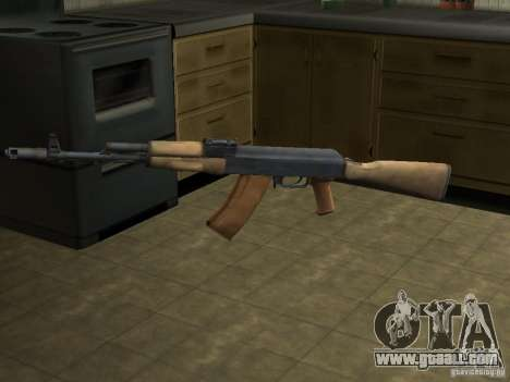 AK-74 of Arma II for GTA San Andreas