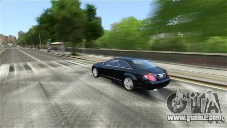 Mercedes-Benz CL65 AMG v1.5 for GTA 4 back view