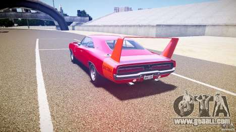 Dodge Charger Daytona 1969 [EPM] for GTA 4 back left view