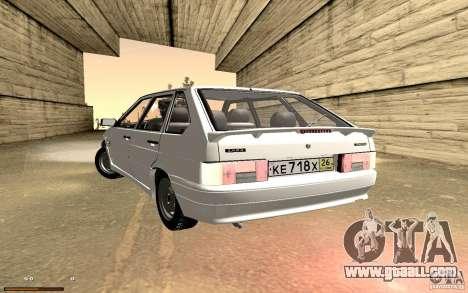 ВАЗ 2114 Quality for GTA San Andreas side view