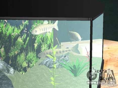 Aquarium for GTA San Andreas third screenshot