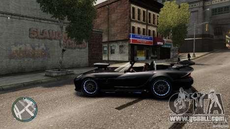 Blue Neon Banshee for GTA 4 left view