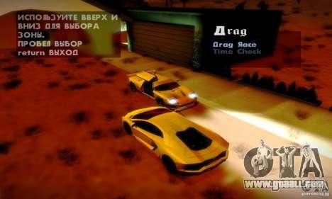 Drag Track Final for GTA San Andreas fifth screenshot