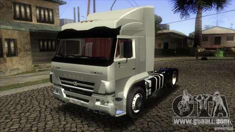 KAMAZ 5460 Euro 3420 Turbo for GTA San Andreas