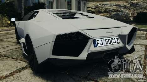 Lamborghini Reventon 2008 v1.0 [EPM] for GTA 4 back left view