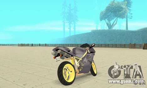Ducati 916 for GTA San Andreas left view