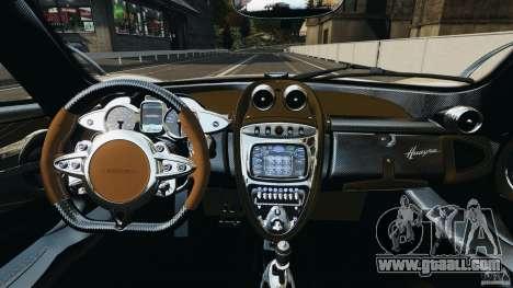 Pagani Huayra 2011 v1.0 [RIV] for GTA 4 back view