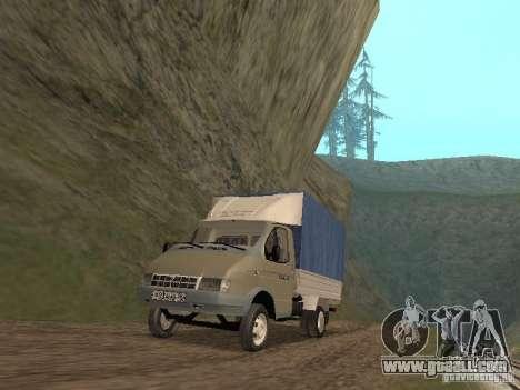 GAZ 3302 in 2001. for GTA San Andreas
