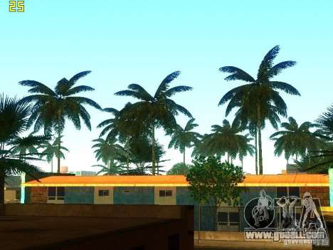 Perfect vegetation v. 2 for GTA San Andreas second screenshot
