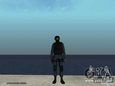 RIOT POLICE Officer for GTA San Andreas third screenshot