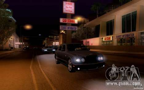 Bentley Arnage for GTA San Andreas upper view