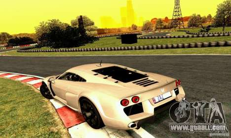 Noble M600 2010 V1.0 for GTA San Andreas side view
