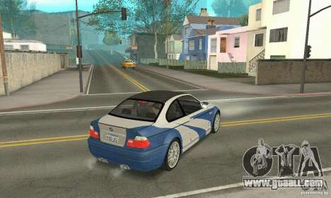 BMW M3 Tunable for GTA San Andreas side view