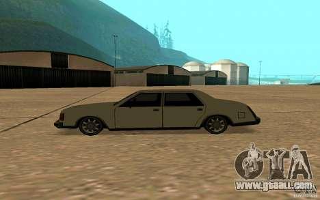 FBI Washington for GTA San Andreas left view