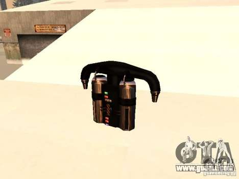 A new Jetpack for GTA San Andreas