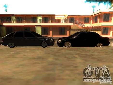 Lada Priora Dag Style for GTA San Andreas interior