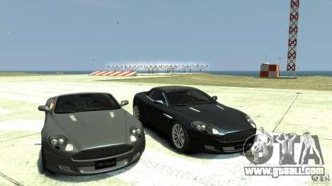 Aston Martin Volante DB9 for GTA 4 back view