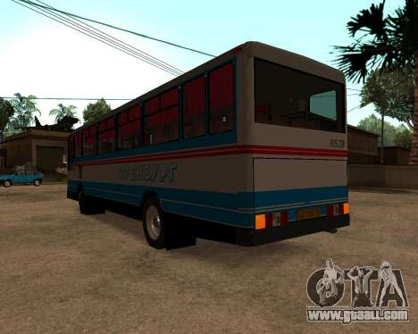 Autosan H10-11B full Orenburg stickers for GTA San Andreas back left view