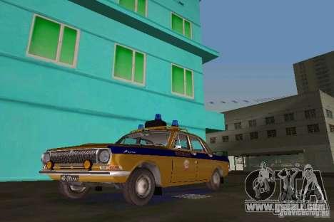 Gaz-24 Militia for GTA Vice City