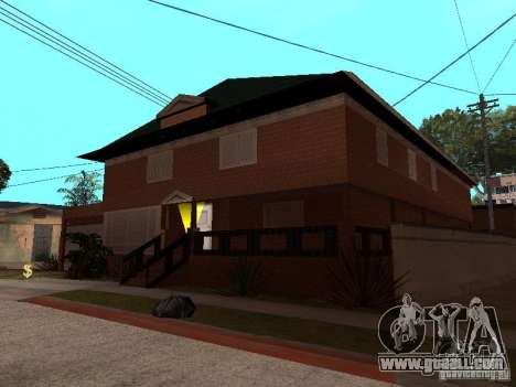 CJ's House in Russian for GTA San Andreas third screenshot