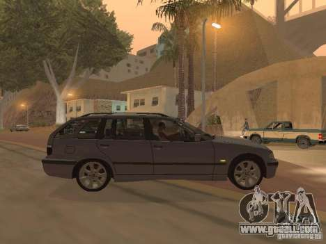 BMW 318 Touring for GTA San Andreas right view