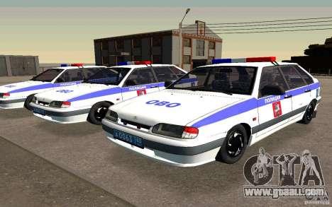 Vaz 2114 PSB Police for GTA San Andreas