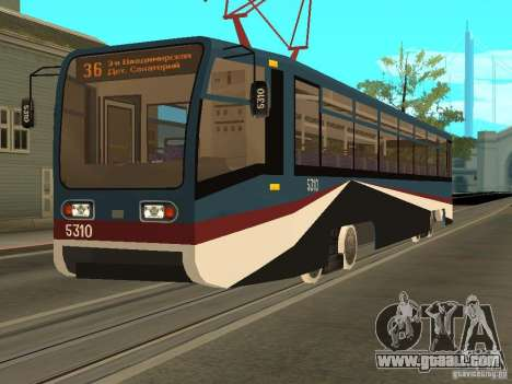 The NEW Tramway for GTA San Andreas