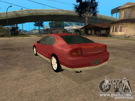 Dodge Intrepid for GTA San Andreas left view