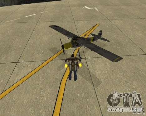 Pak air transport for GTA San Andreas right view