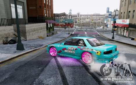 Nissan Silvia S13 Drift Works for GTA 4 right view