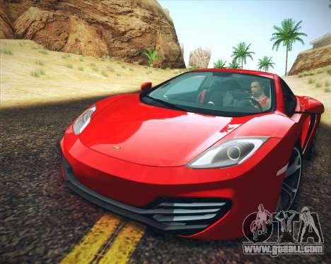 Realistic Graphics HD for GTA San Andreas forth screenshot