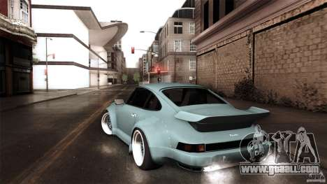 Porsche 911 Turbo RWB DS for GTA San Andreas left view