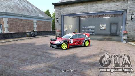 Subaru Impreza WRX STI RALLYCROSS Eibach Springs for GTA 4