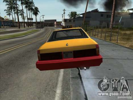 Sentinel Taxi for GTA San Andreas right view